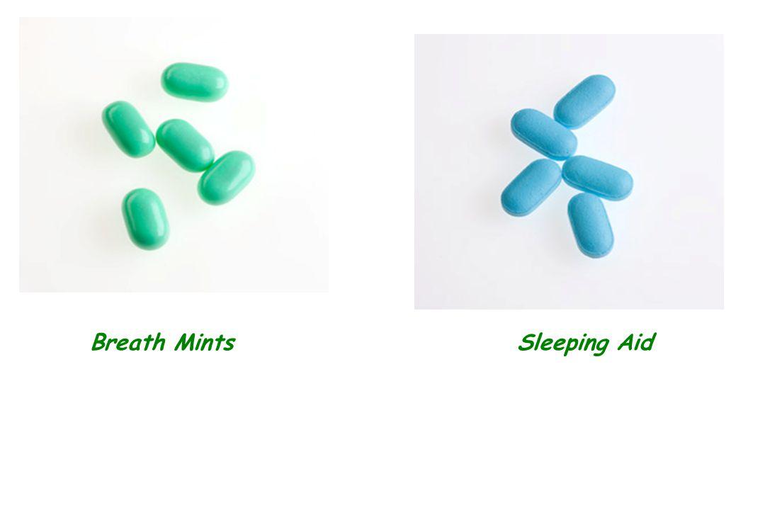 Breath Mints Sleeping Aid