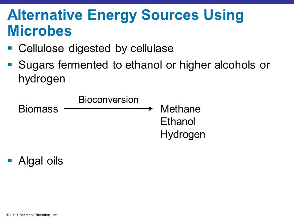 © 2013 Pearson Education, Inc.Figure 28.15 Methane production from solid wastes in landfills.