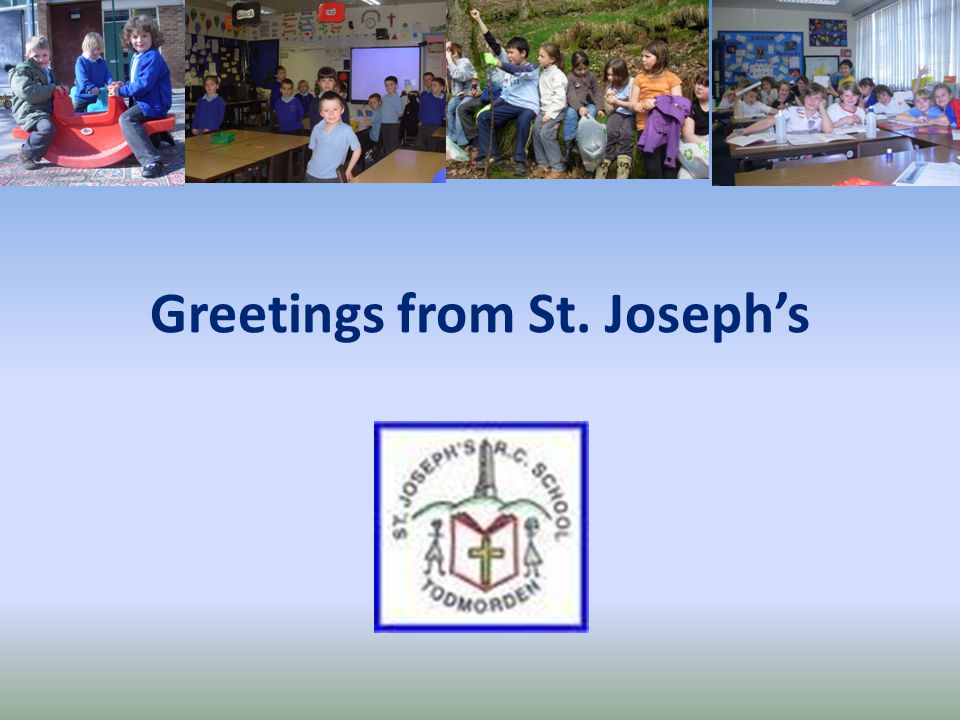Greetings from St. Joseph's