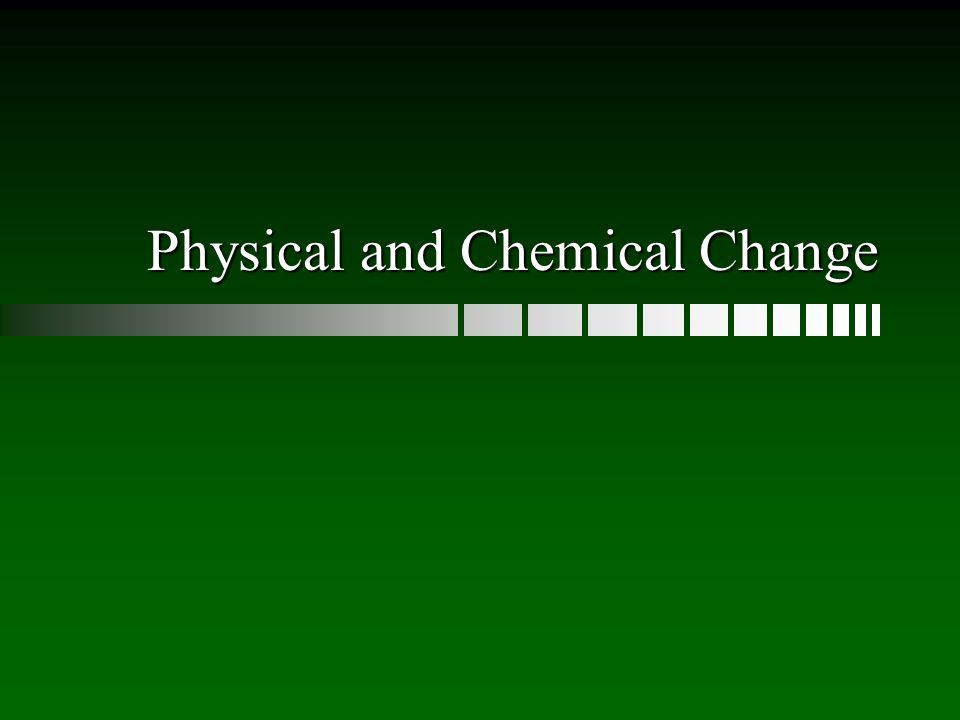 Clues of a Chemical Change A new colour appears eg. Oxygen Indicator Solution