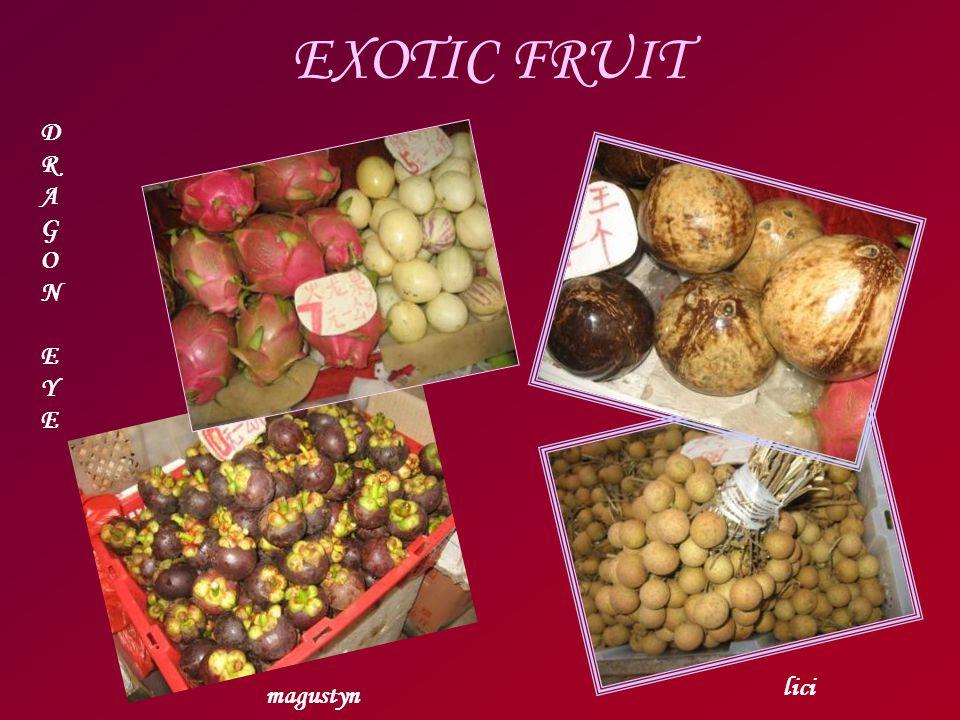 EXOTIC FRUIT DRAGONEYEDRAGONEYE magustyn lici