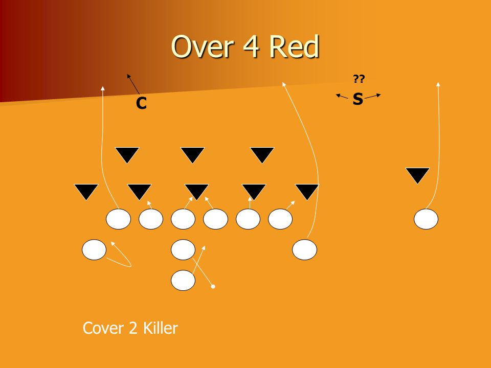 Over 4 Red C S ?? Cover 2 Killer