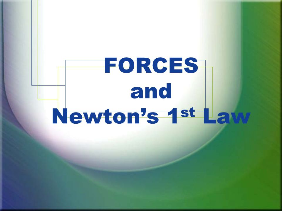 A force is a push or pull on an object which can cause the motion of the object to change.
