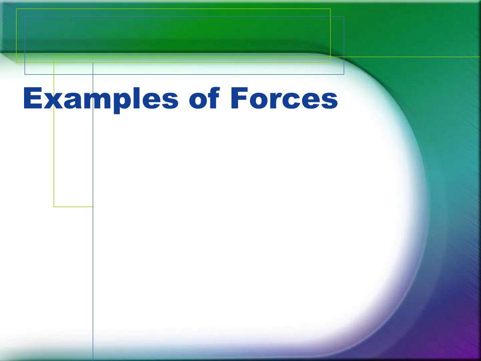 An applied force is a force that is applied to an object by a person or another object.