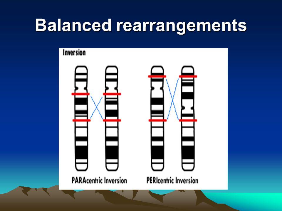 Balanced rearrangements