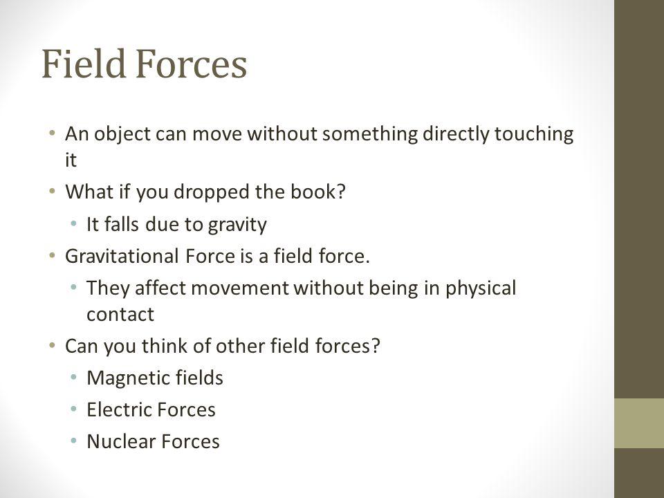 Unbalanced forces cause acceleration. Balanced Versus Unbalanced