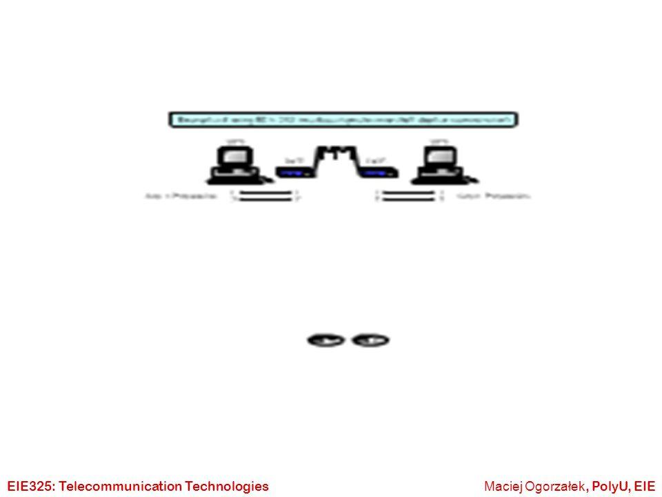 Maciej Ogorzałek, PolyU, EIEEIE325: Telecommunication Technologies Electrical Specification 0 1 ?????.