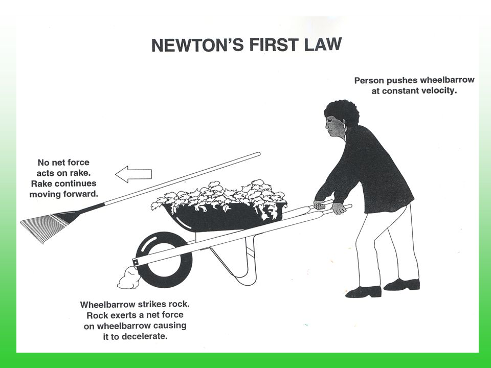 Examples of Newton's 1 st Law