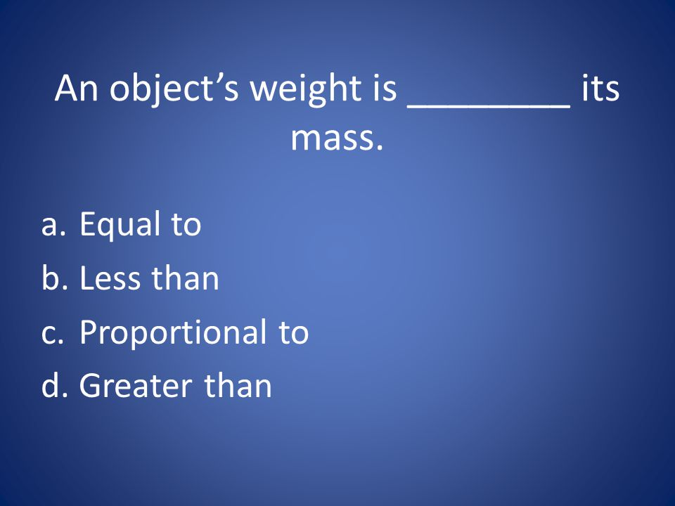 c. Proportional