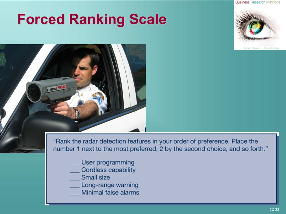 12-33 Forced Ranking Scale