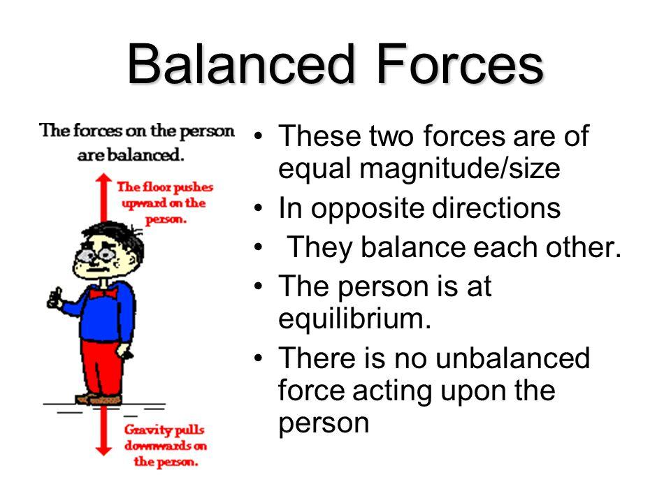 Balanced Forces vs.