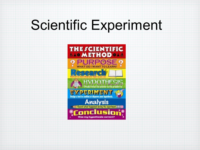 Scientific Experiment