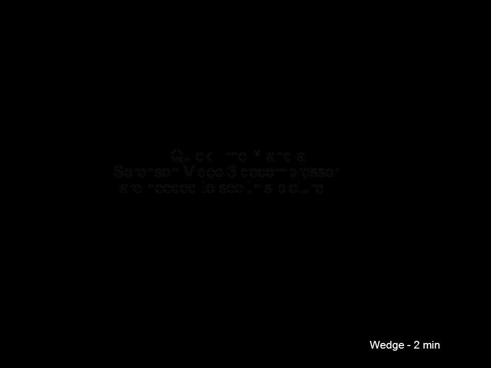 Wedge - 2 min