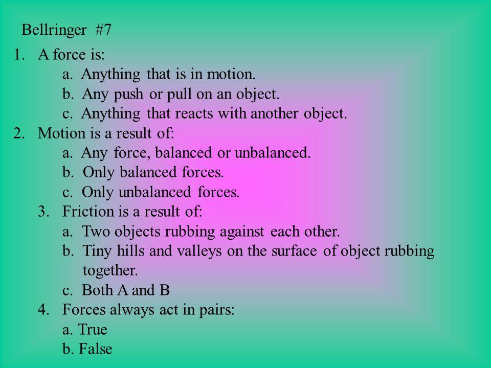 Bellringer #6