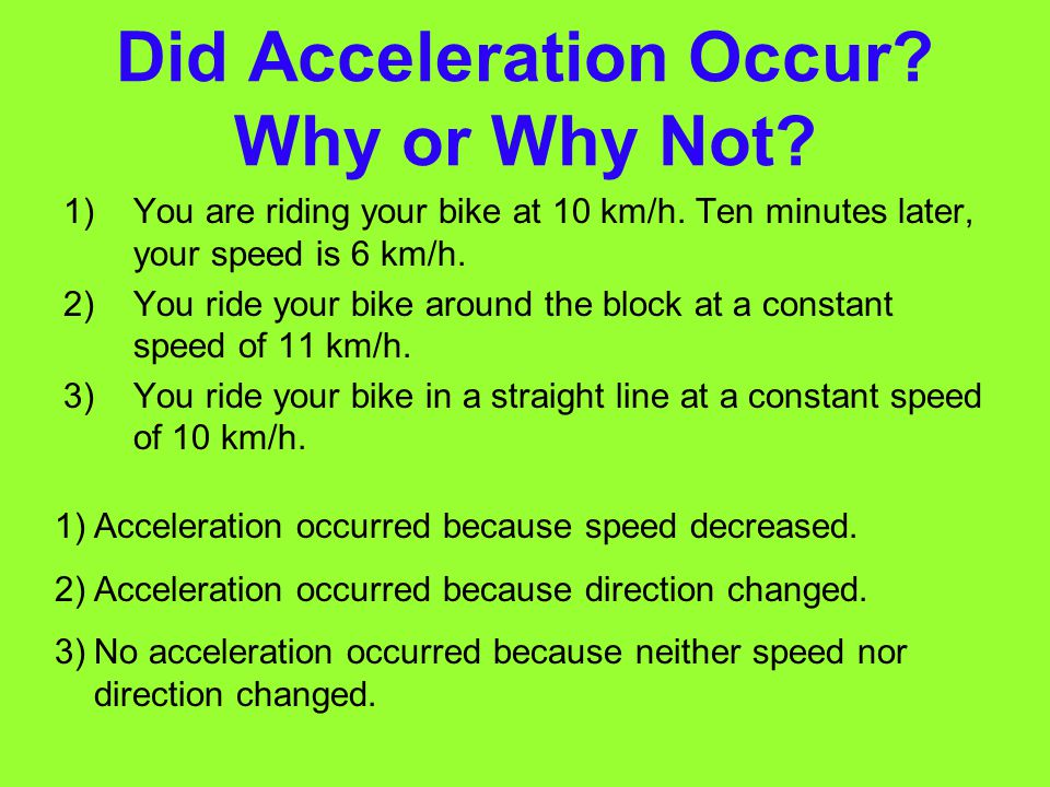 Circular Motion: Continuous Acceleration centripetal (sen TRIP uht uhl) acceleration Does it surprise you to find out that standing at Earth's equator