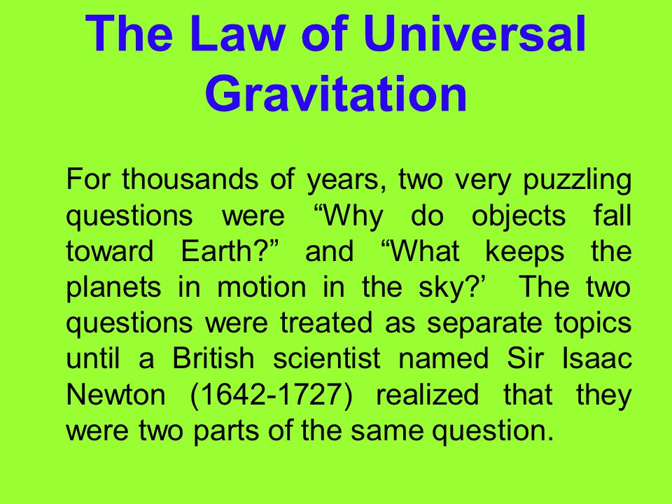 Earth' Gravitational Force Is Large Compared with all the objects around you, Earth has an enormous mass. Therefore, Earth's gravitational force is ve