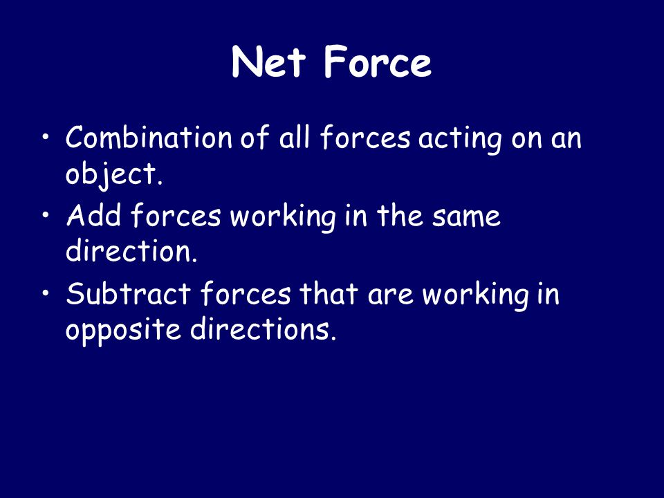 Vectors Lines with arrows that show force.