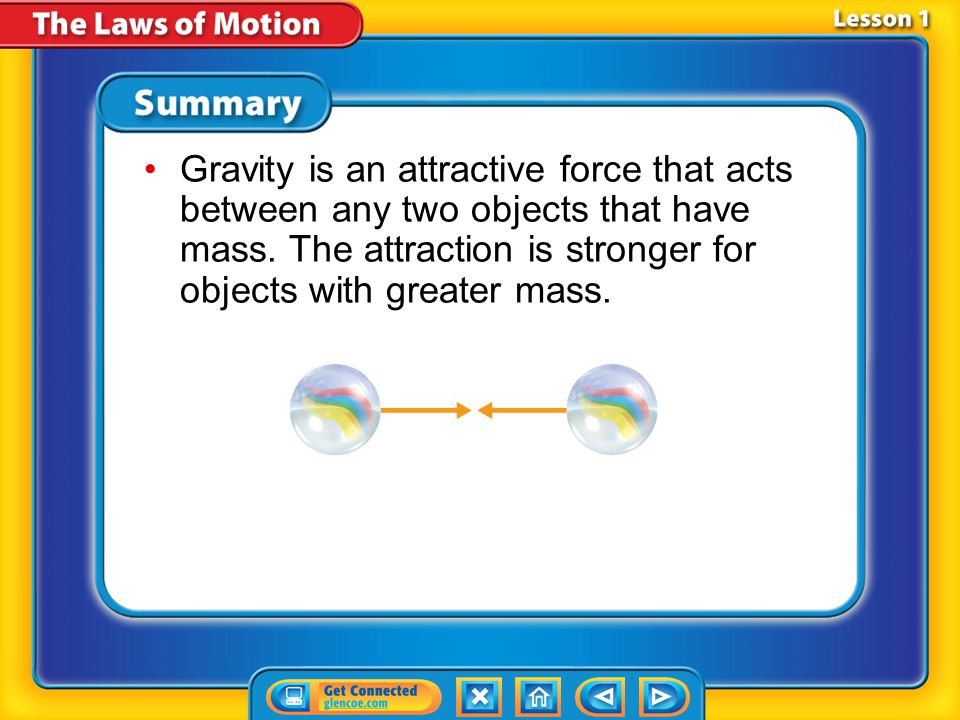 Lesson 1 - VS Forces can be either contact, such as a karate chop, or noncontact, such as gravity. Each type is described by its strength and directio