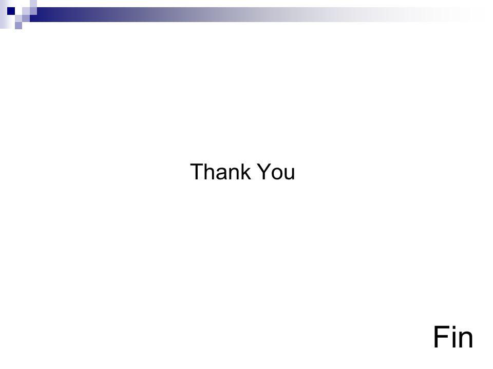 Fin Thank You