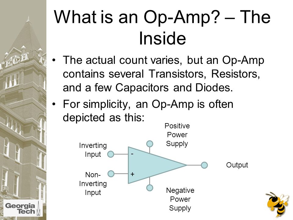What is an Op-Amp.
