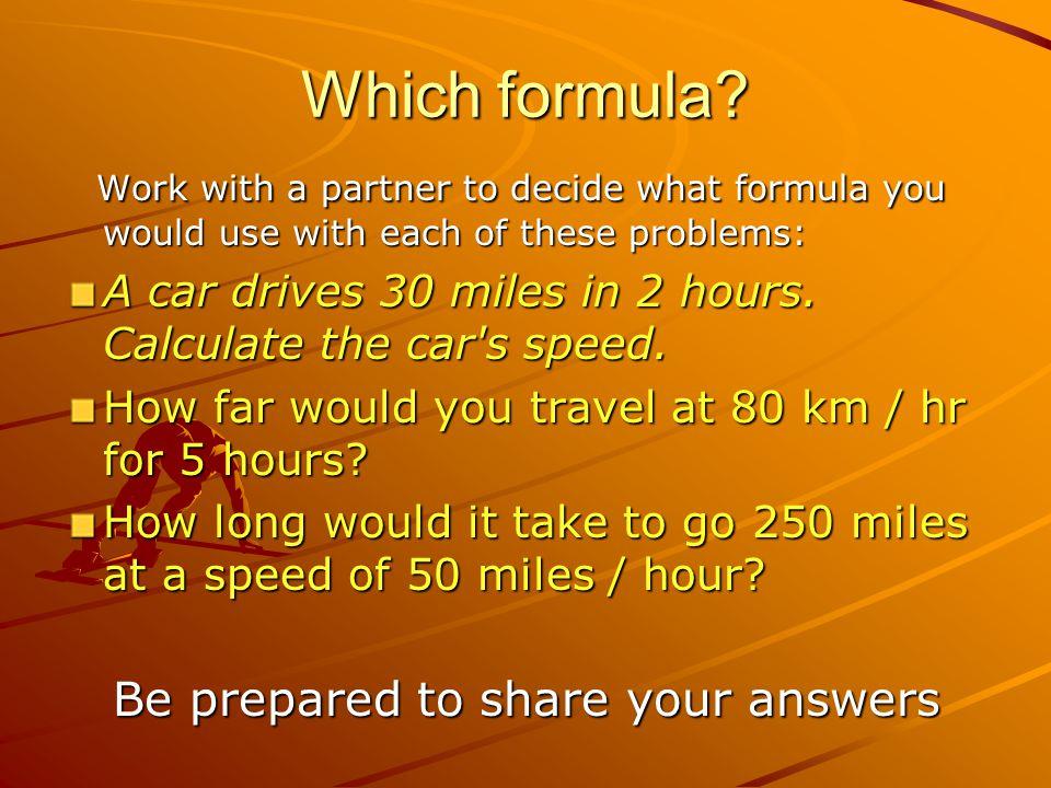 Which formula.