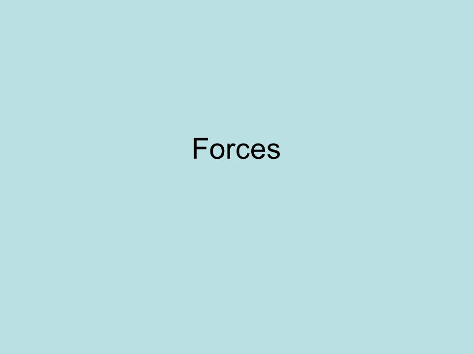What is force.A force is a push or a pull one body exerts on another body.