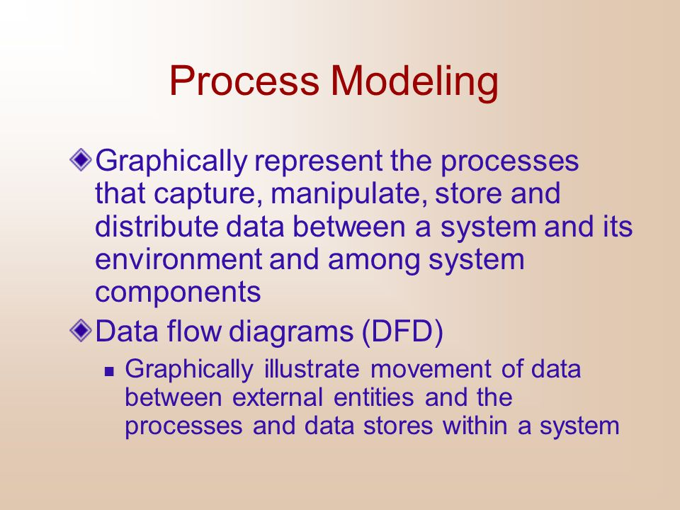 Final DFD Notes  when to show a direct data flow between processes and when to decouple these with a data store  what activities to encompass with each process  how to distinguish processes from sinks and sources