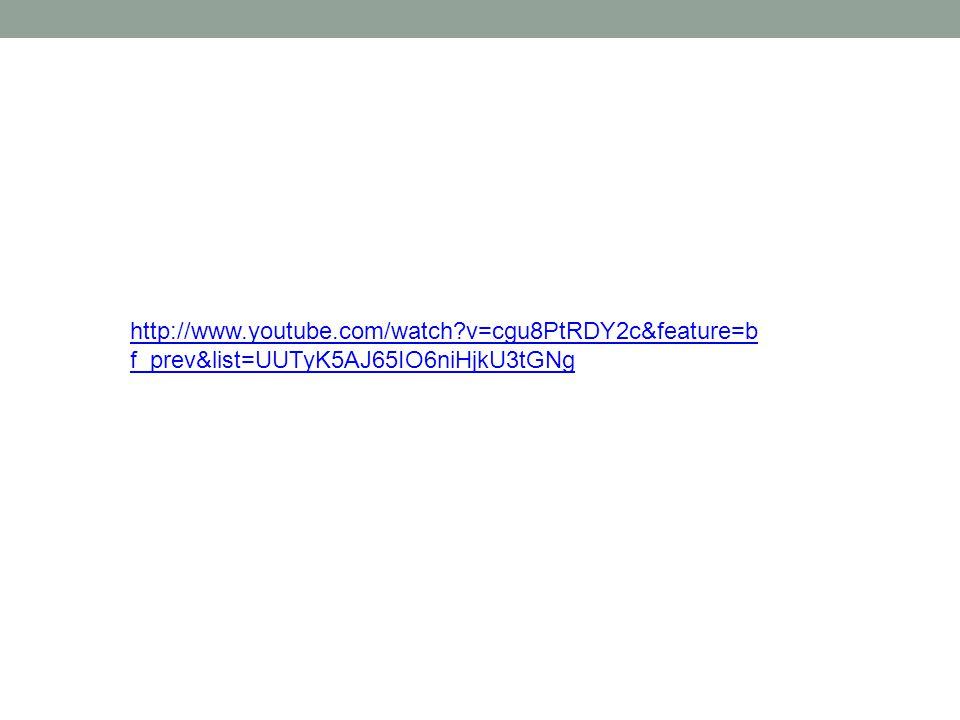 http://www.youtube.com/watch?v=cgu8PtRDY2c&feature=b f_prev&list=UUTyK5AJ65IO6niHjkU3tGNg