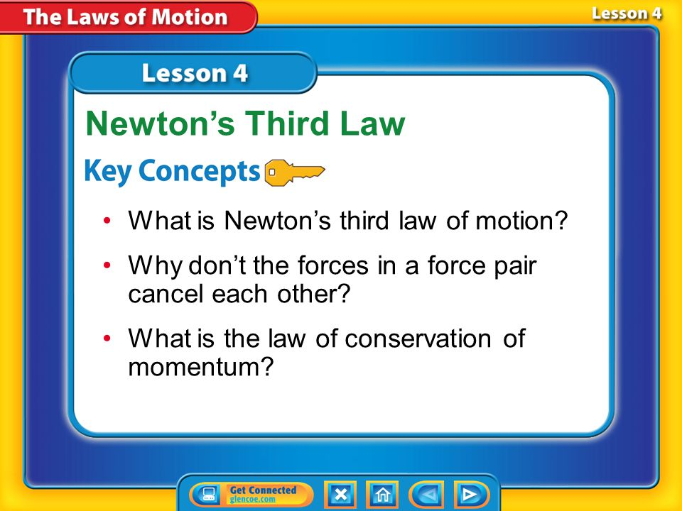 Lesson 4 Reading Guide - KC What is Newton's third law of motion.