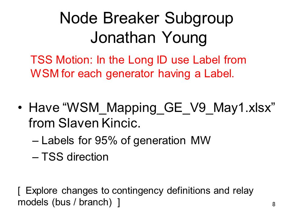 Modeling Unbalanced Networks TSS Motion: Include unbalanced sequence network data in WECC base cases.
