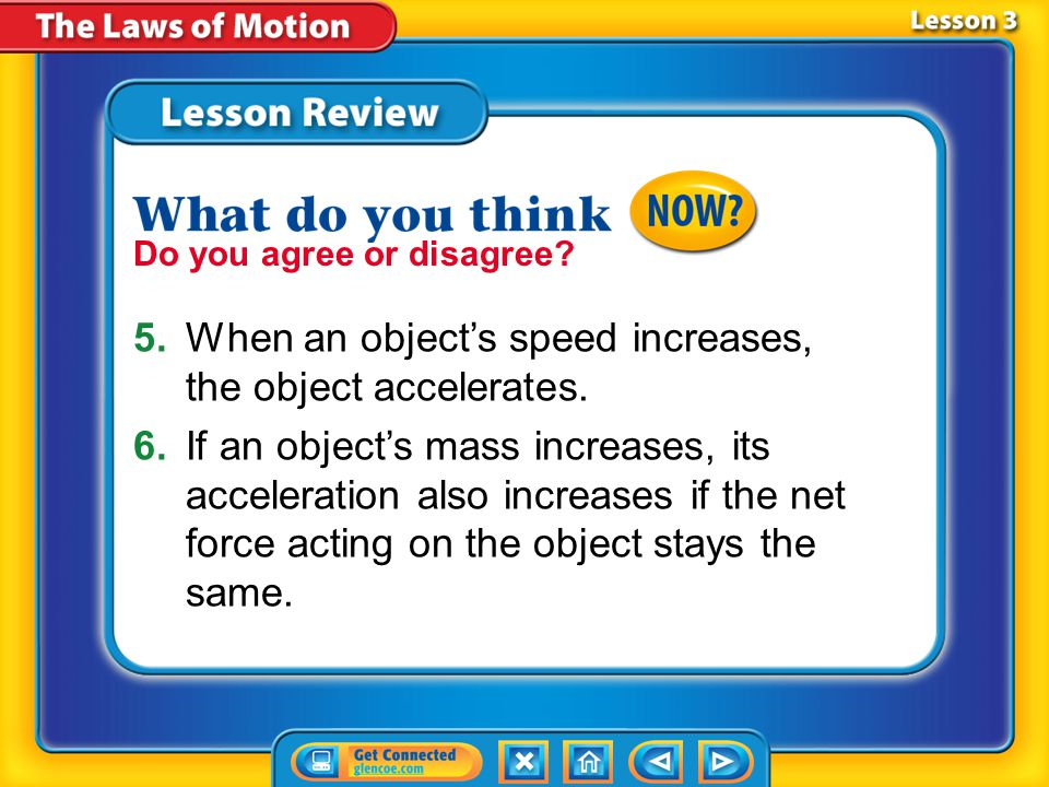 Lesson 3 - VS Any motion in which an object is moving along a curved path is circular motion.