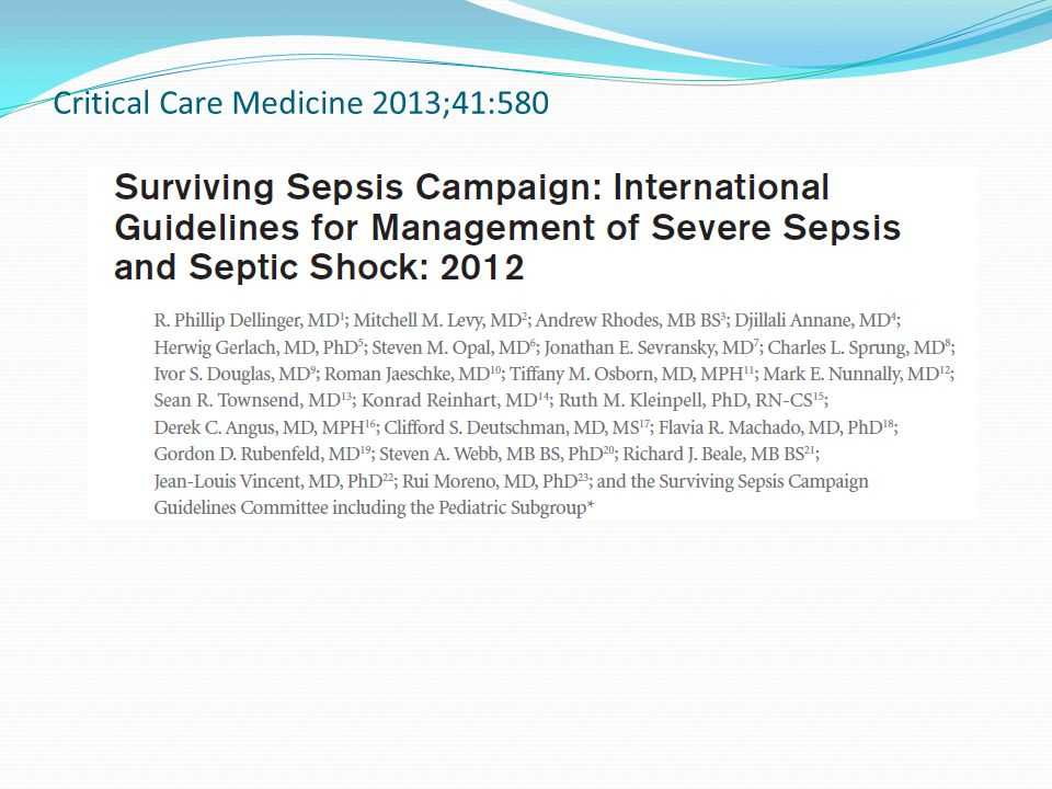 Septic Patients are not Immune to Hospital Acquired Infections.