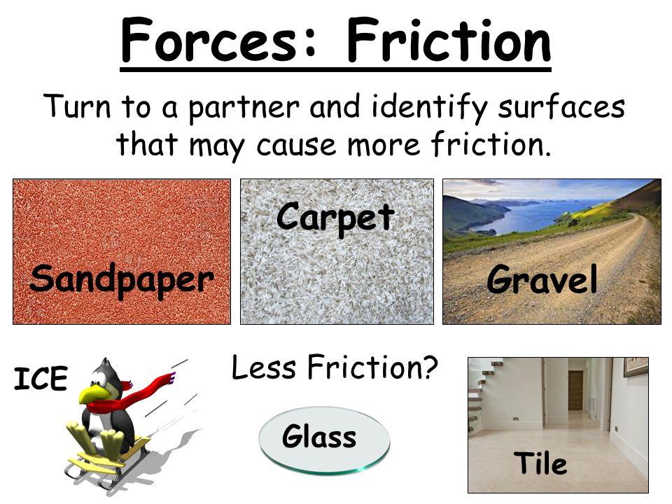 Friction: Friend or Foe?