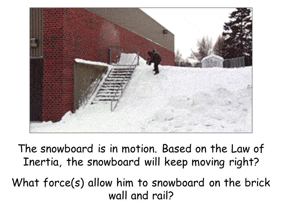 Friction and the Law of Inertia Objects in motion remain in motion unless acted on by an unbalanced force.