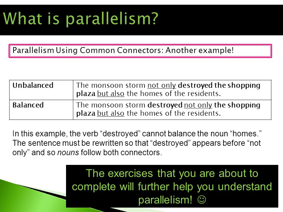 Parallelism Using Common Connectors: Another example.