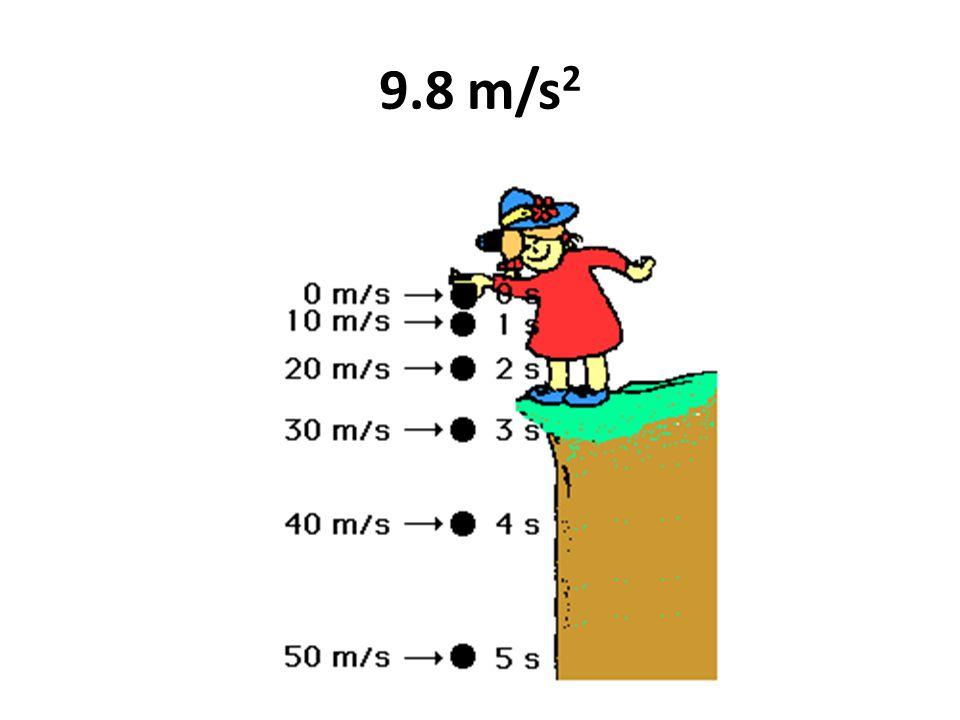 9.8 m/s 2