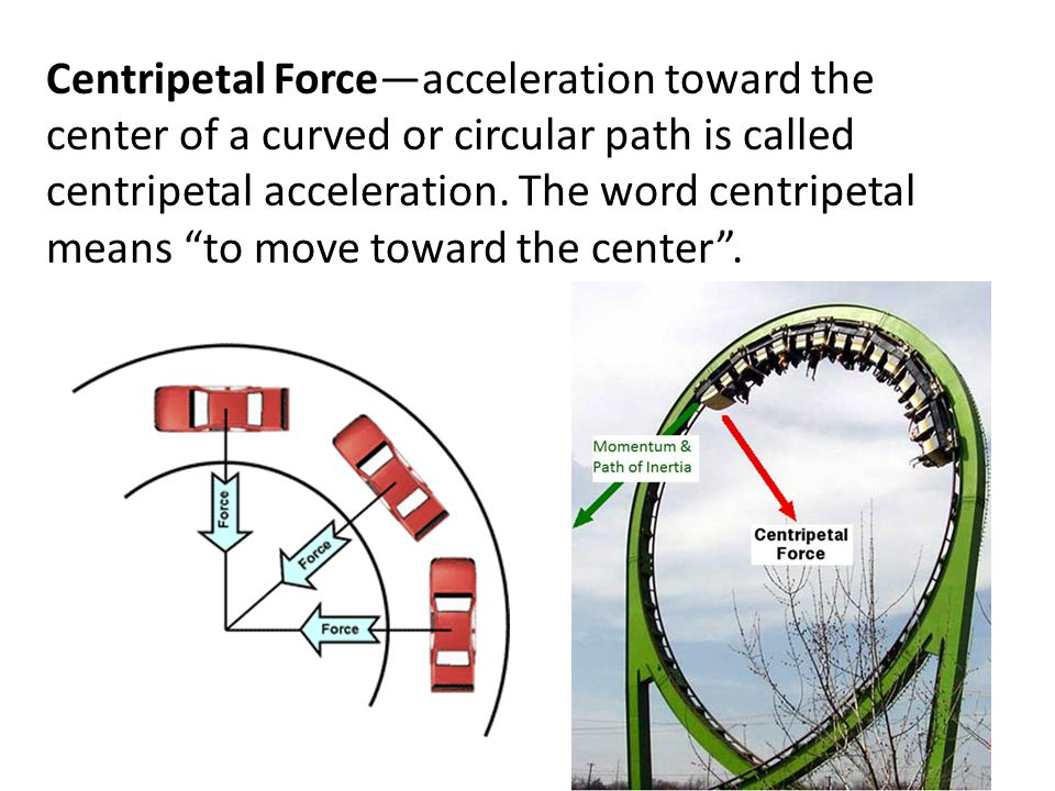 Projectile Motion—anything that's thrown or shot through the air is called a projectile. Because of Earth's gravitational pull and their own inertia,