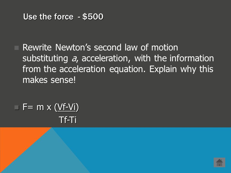 Use the force - $400 A 2.5 kg box is sliding along a level floor. It is slowing down at a rate of 0.45 m/s 2. What is the force of friction the floor