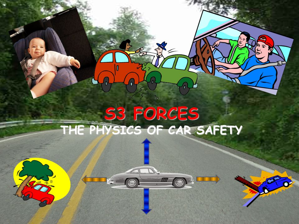 © C. Rossi, Dumfries High School S3 FORCES THE PHYSICS OF CAR SAFETY