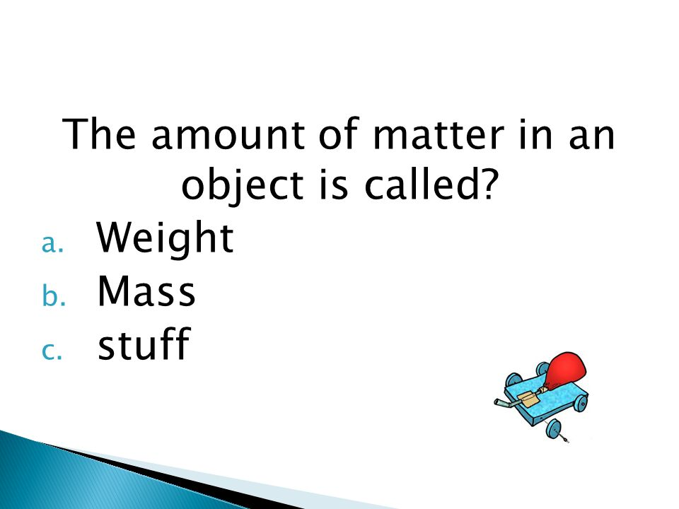  This test covers what you learned in Unit 1 including: ◦ Contact and Non-Contact Forces ◦ How to measure motion (speed and velocity) ◦ Balanced and unbalanced forces ◦ Newton's Laws of Motion Quiz yourself by going through the slides.