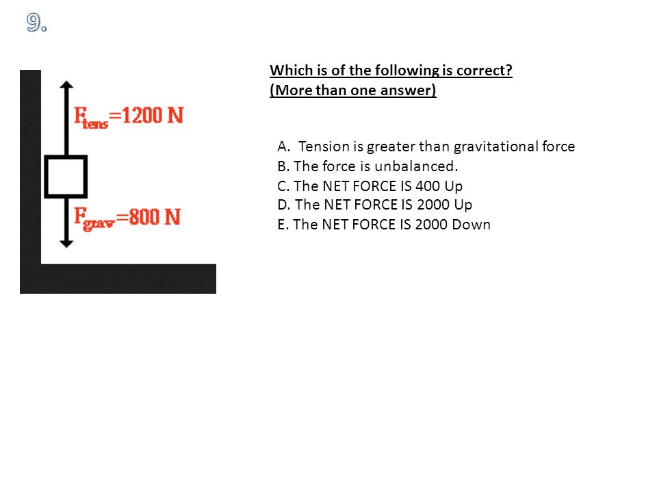 Which is of the following is correct. (More than one answer) A.
