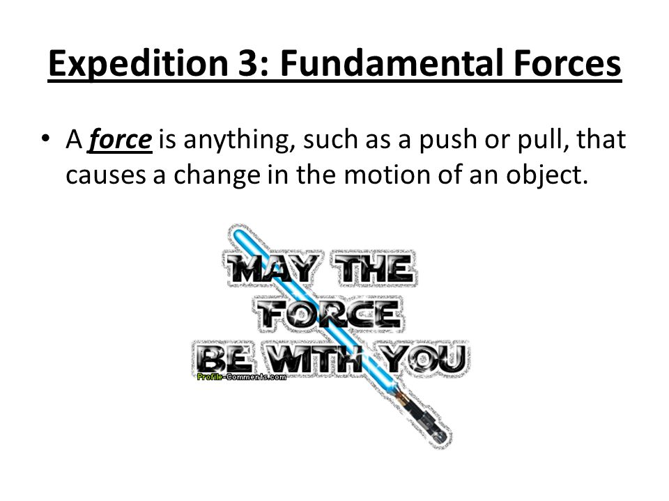 Forces always occur in pairs.
