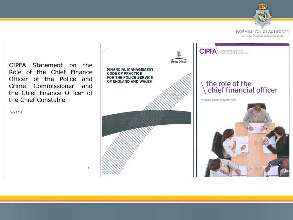 Consultation/Information Sharing Mutual Confidence Responsibilities Principles Management/Personal skills Experience Accountability The Role of the Chief Finance Officer(s) Practical Application