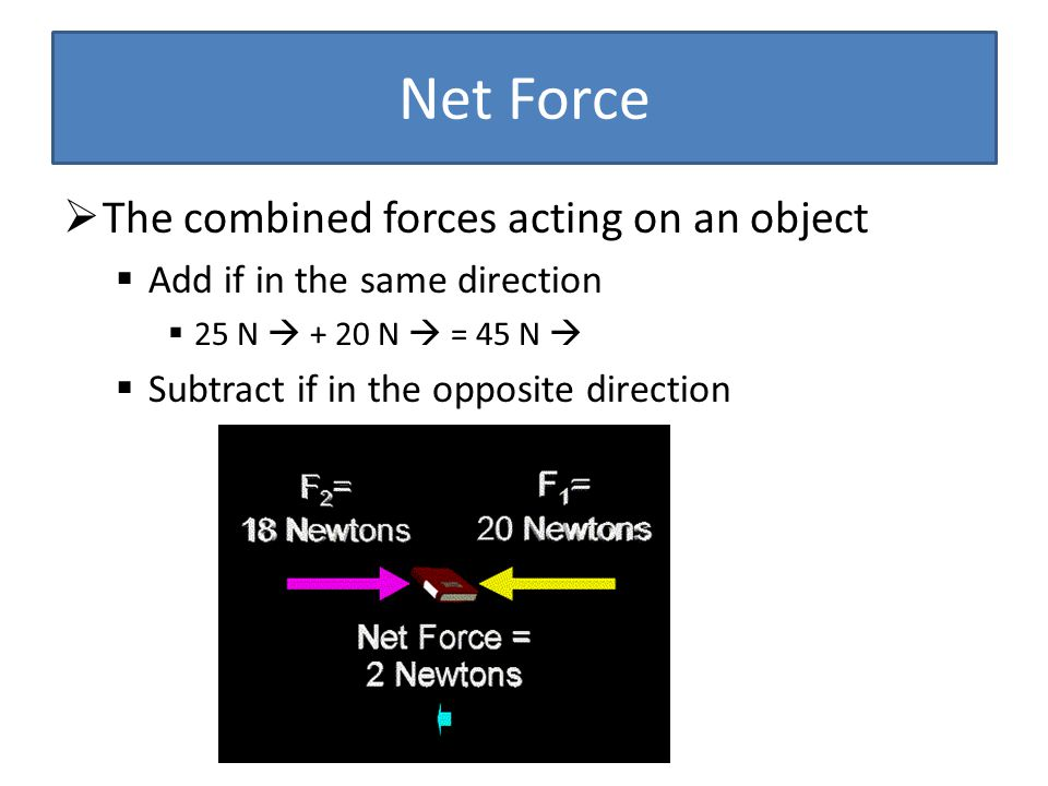 Does a force acting upon an object mean that it will move.