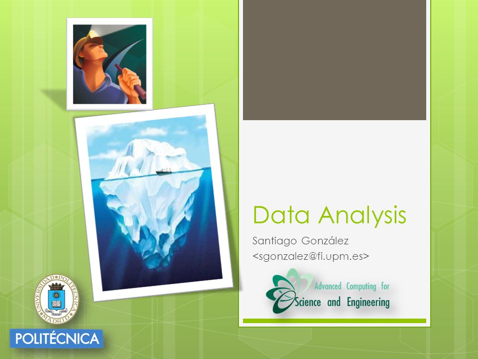 Data Analysis Santiago González