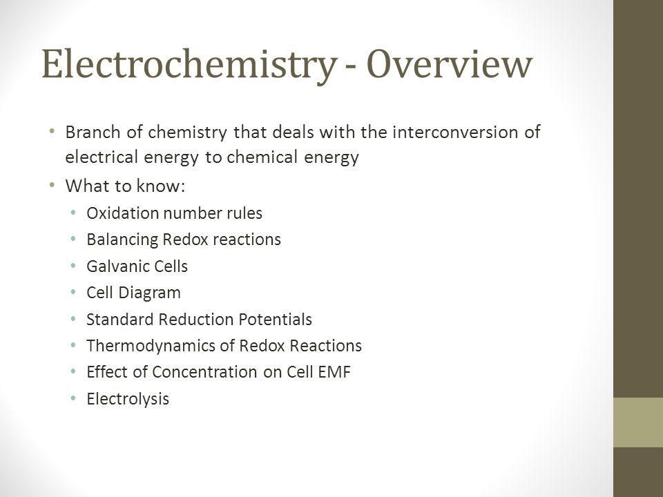 Electrolysis The mass of product formed (or reactant consumed) at an electrode is proportional to both the amount of electricity transferred at the electrode and the molar mass of the substance in question.