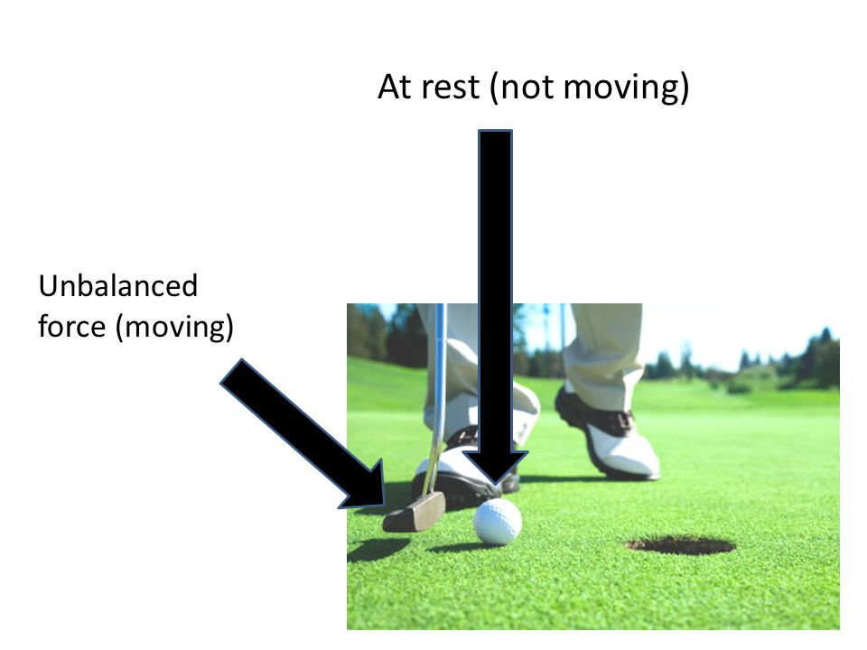 Part 2: Objects in Motion Moving objects will continue to move forever in the same velocity unless an unbalanced force acts on them.