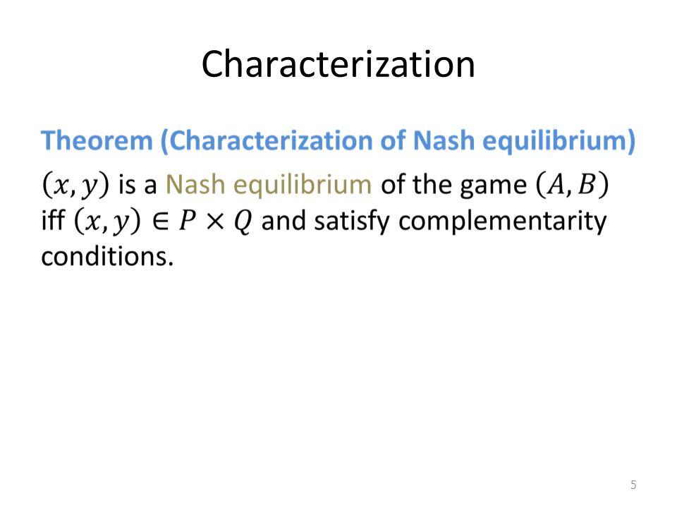 Characterization 5