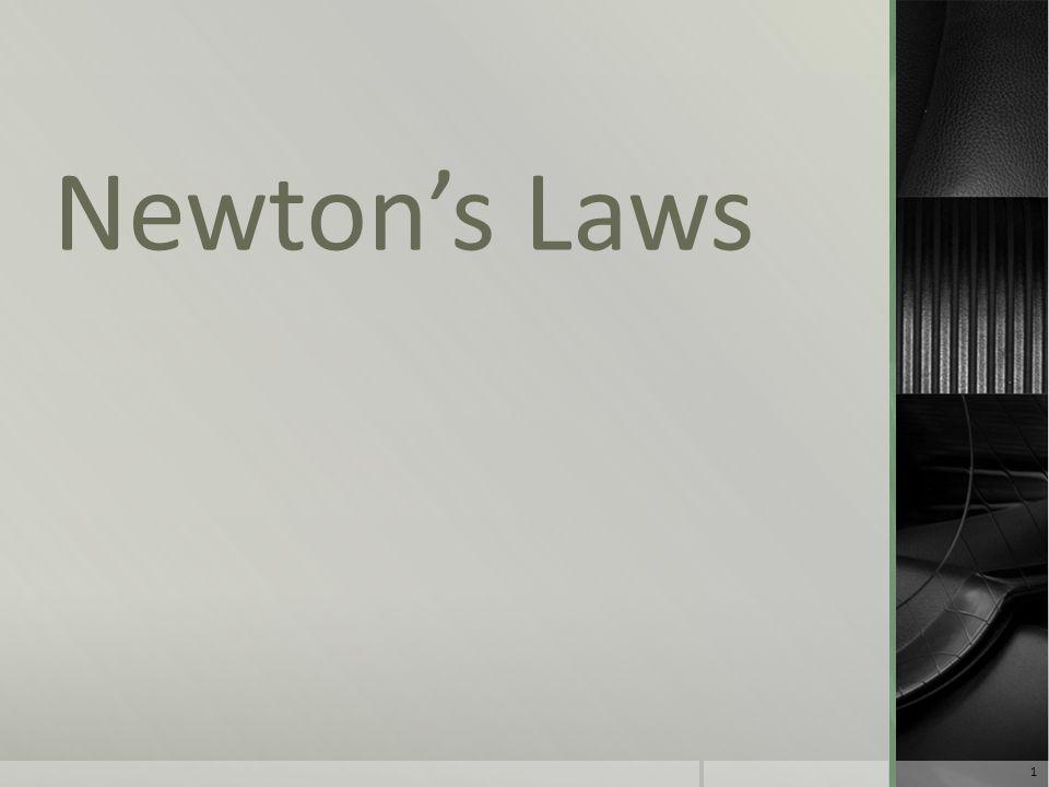Newton's Laws 1