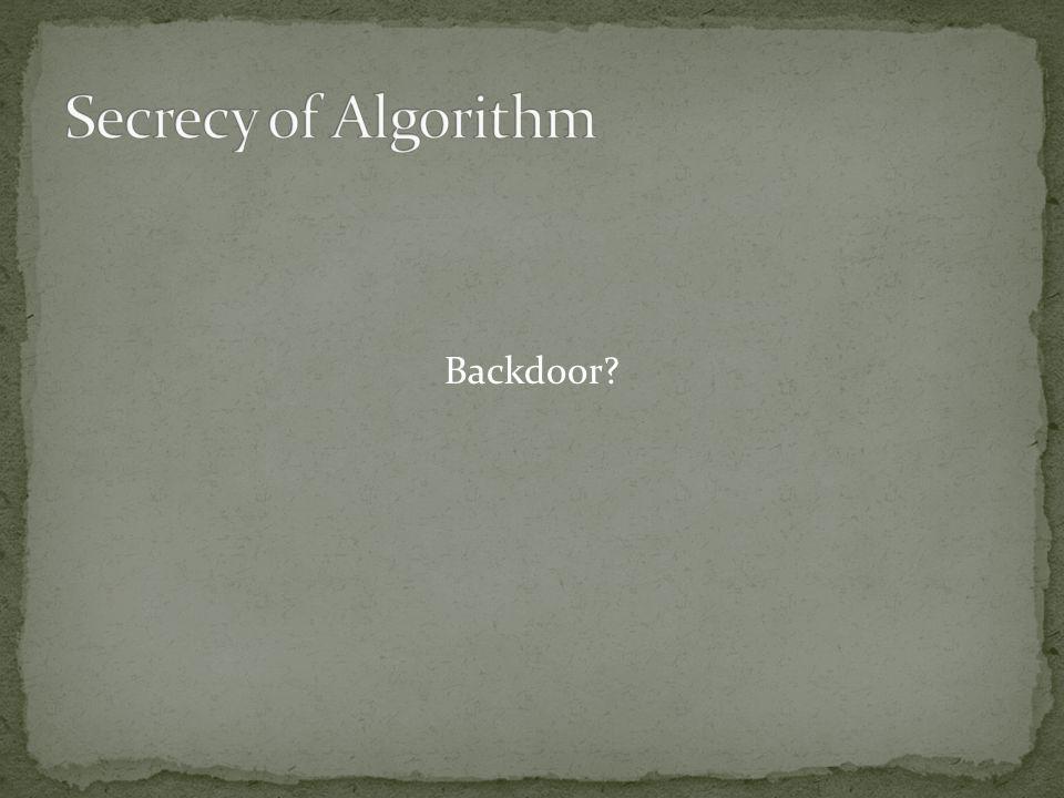Backdoor?